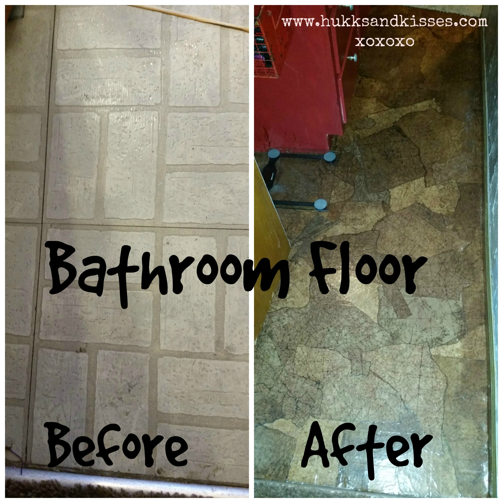 Can You Use Laminate Flooring On Concrete: Bathroom Redo Tutorial Part III